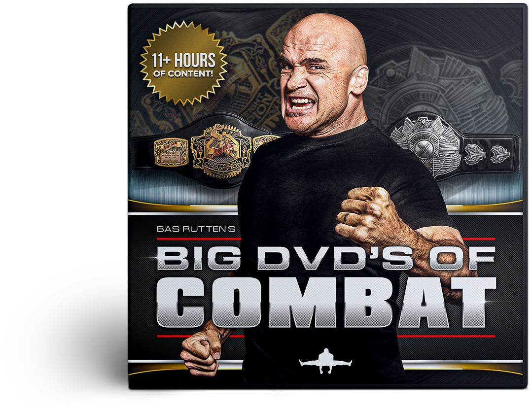 Big DVD's of Combat Mockup [CASE]